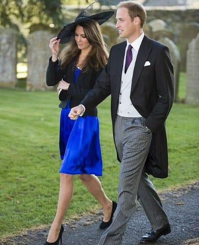 Prince William w żakiecie na ślubie kolegi