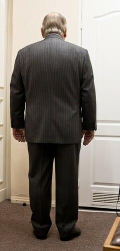 Tył garnituru