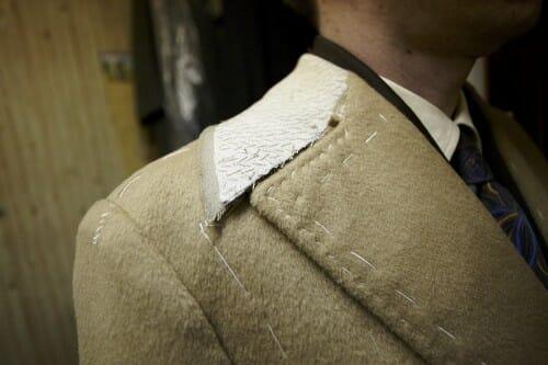 Kołnierz w płaszczu paletot ulster