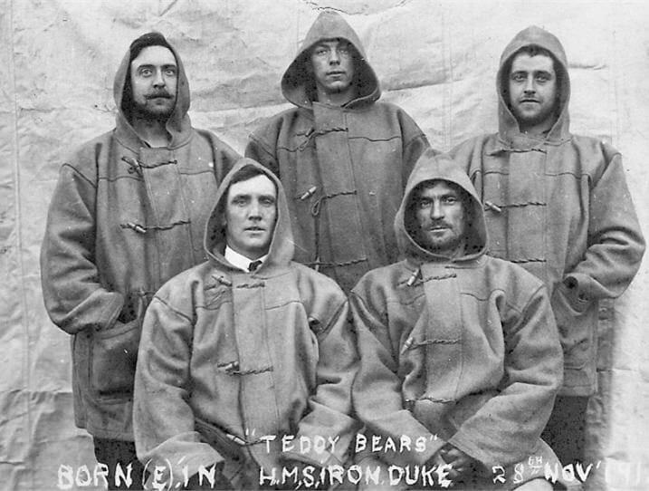 Marynarze na okręcie HMS Iron Duke 1919