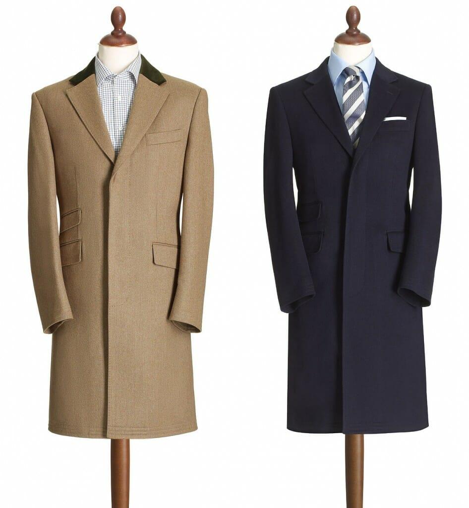 Eleganckie płaszcze męskie