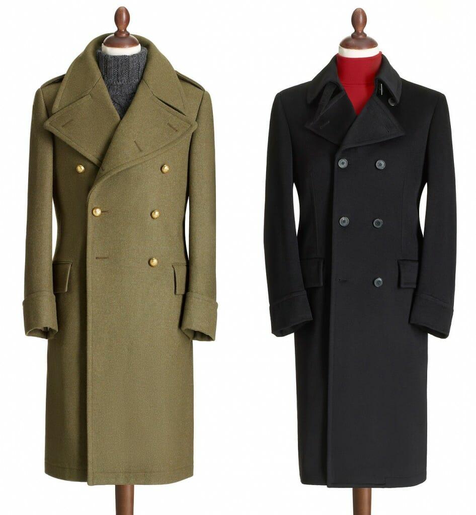 Eleganckie płaszcze męskie na zimę