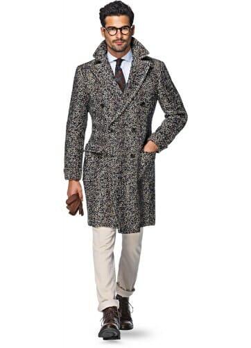 donegal tweed płaszcz