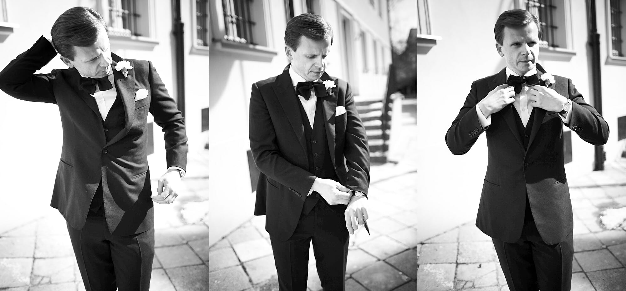 garnitury na wesele