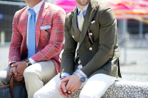 Krawaty z lnu i jedwabiu na Pitt Uomo