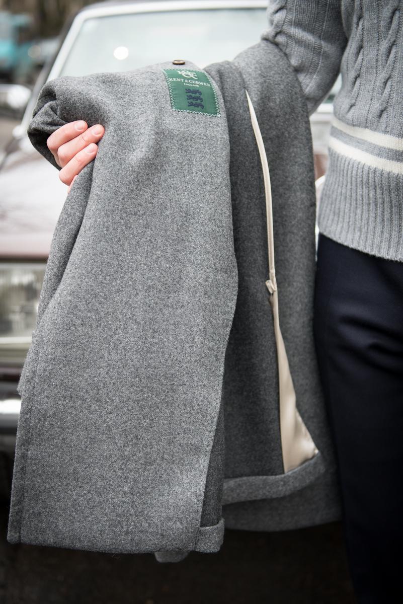Płaszcz bez podszewki