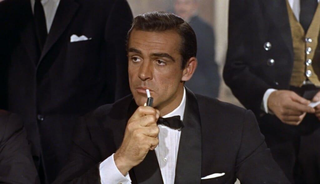 Sean Connery jako James Bond. 007 najlepszych outfitów