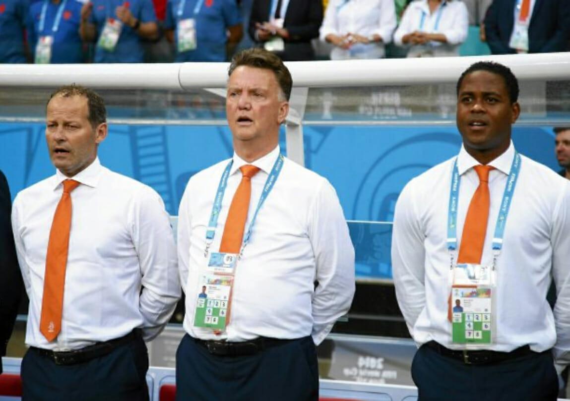 trzech trenerów holandii