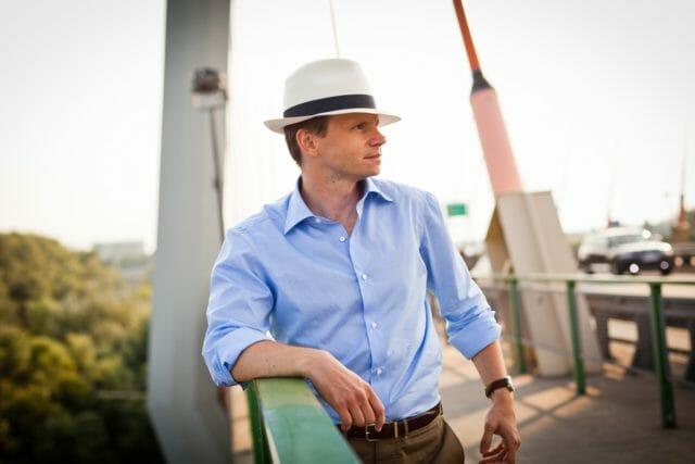 Słomkowy kapelusz Panama