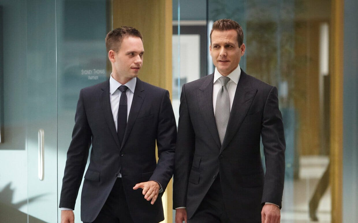Mike Ross i HarveySpecter