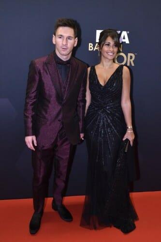Ronaldo z żoną