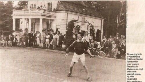 1942 Tenis - Bohdan Tomaszewski foto 1