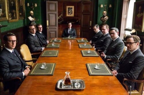 Kingsman stół