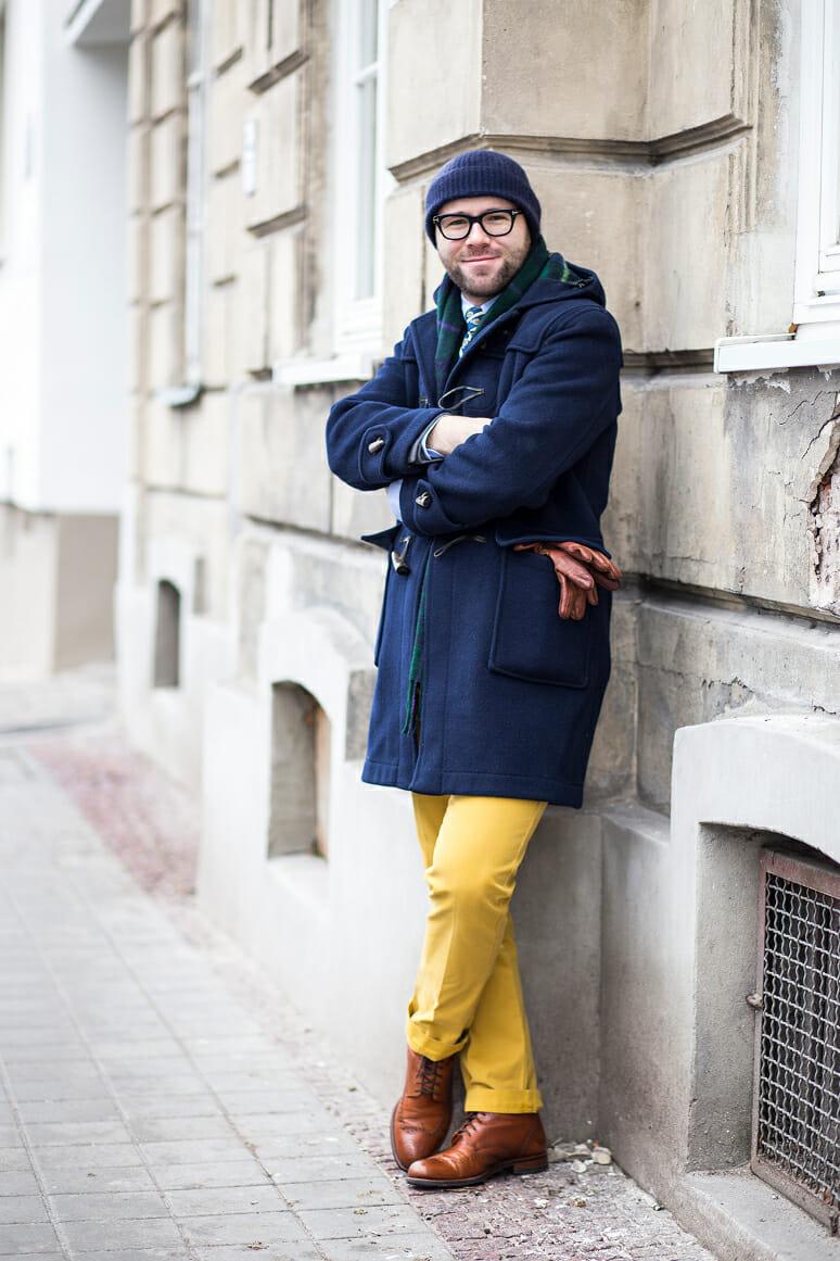 Męski trencz trencze PORADNIK Casualism Blog Moda Męska