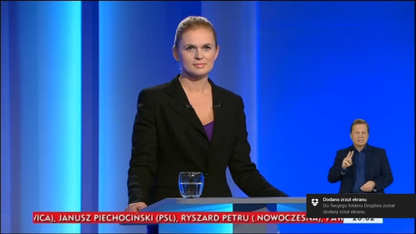 Barbara Nowacka debata liderów wybory