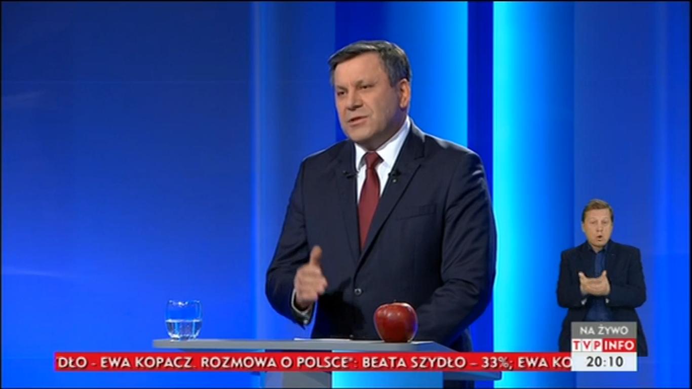 Janusz Piechociński debata liderów