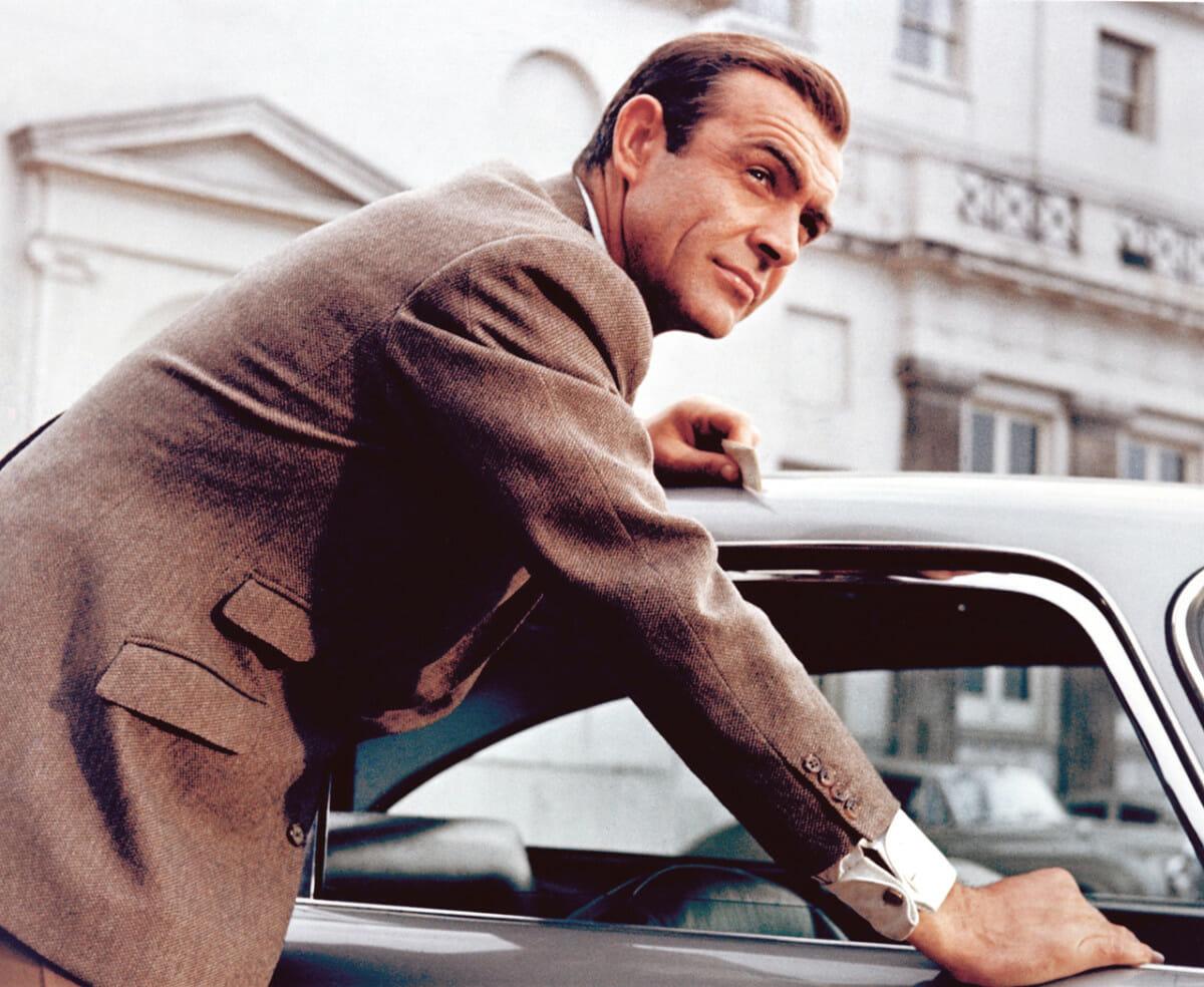 Sean Connery tweedowa marynarka
