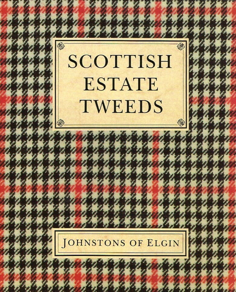 Książka Scottish estate tweeds