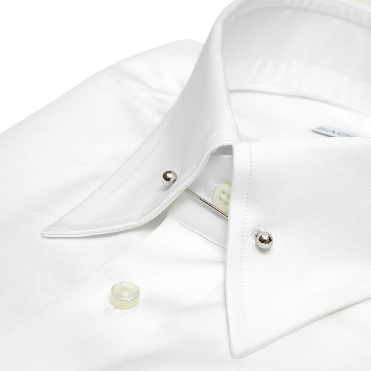Koszula na spinkę w kołnierzu