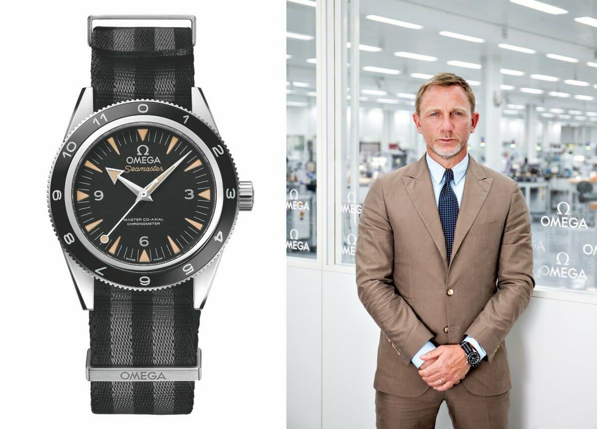 The OMEGA Seamaster i Daniel Craig