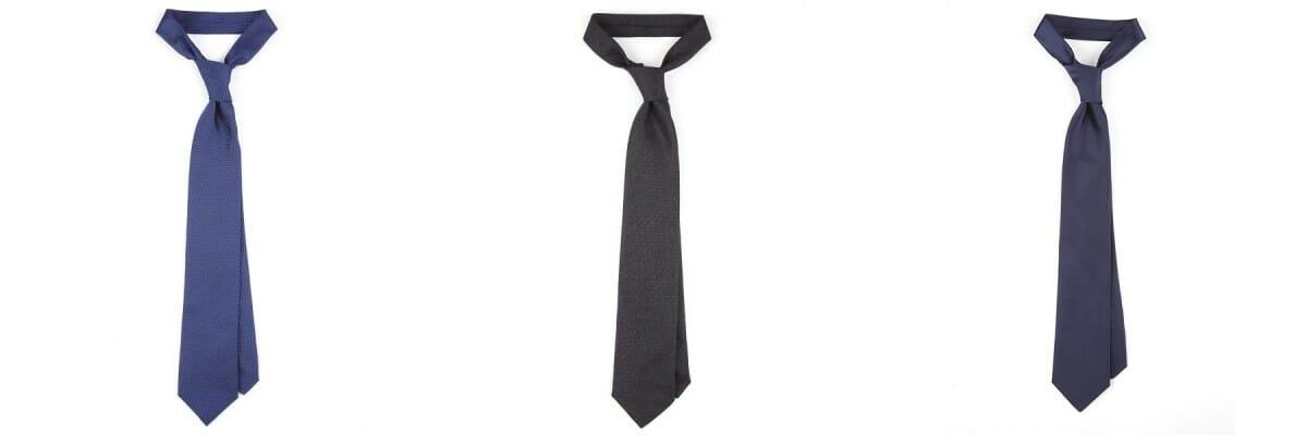 krawaty w stylu bonda