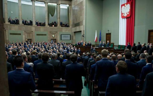 Ślubowanie polskich posłów