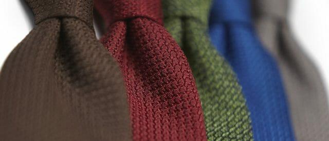 Krawaty z grenadyny. Nieoczywistość stylu