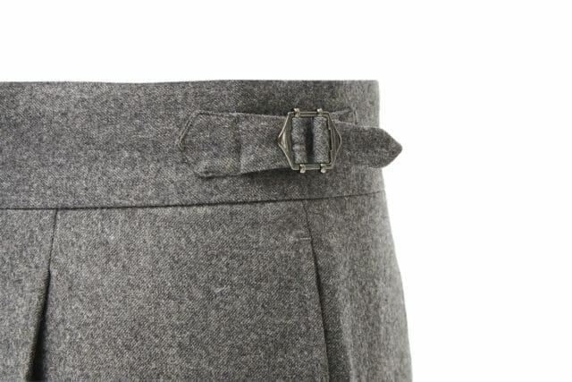 Najważniejsze spodnie w Twojej szafie. Szara flanela