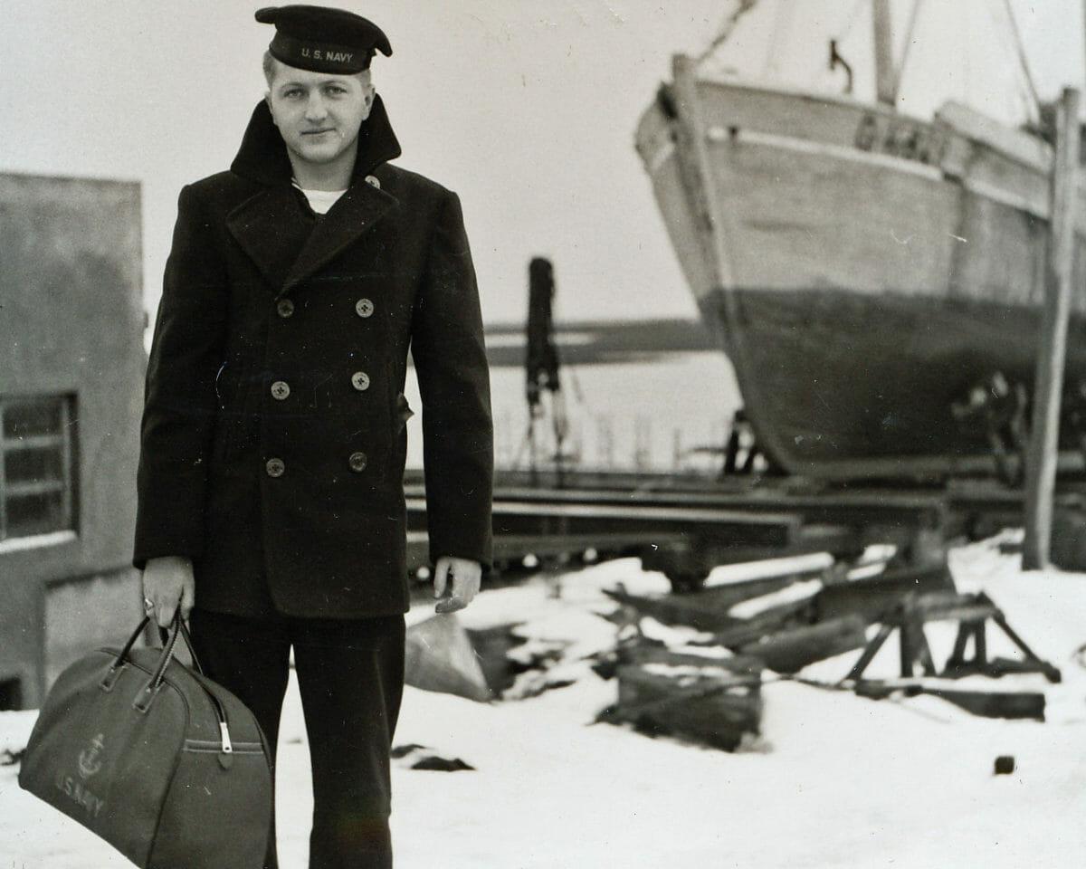 kurtka marynarska