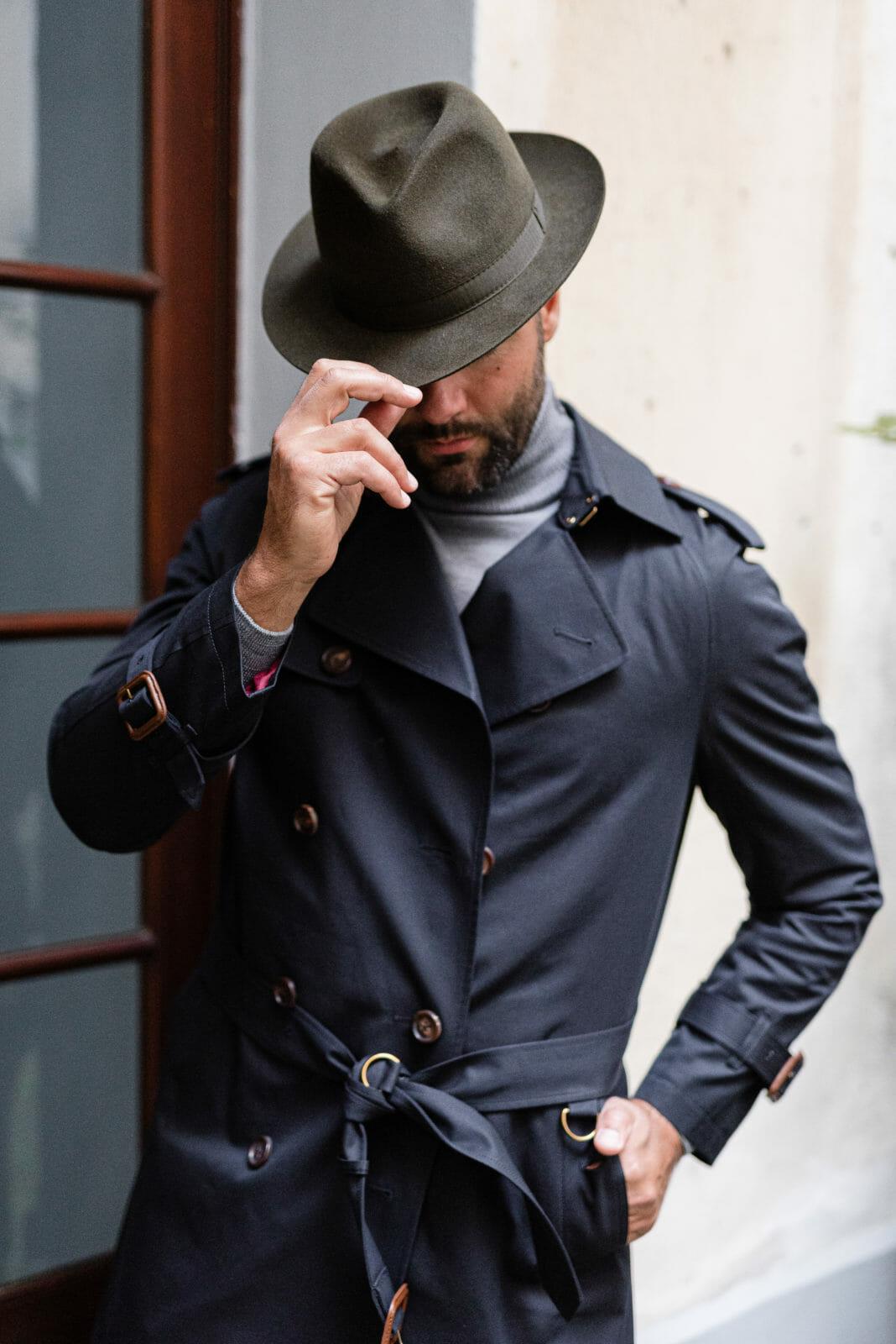 elegancki płaszcz przejściowy