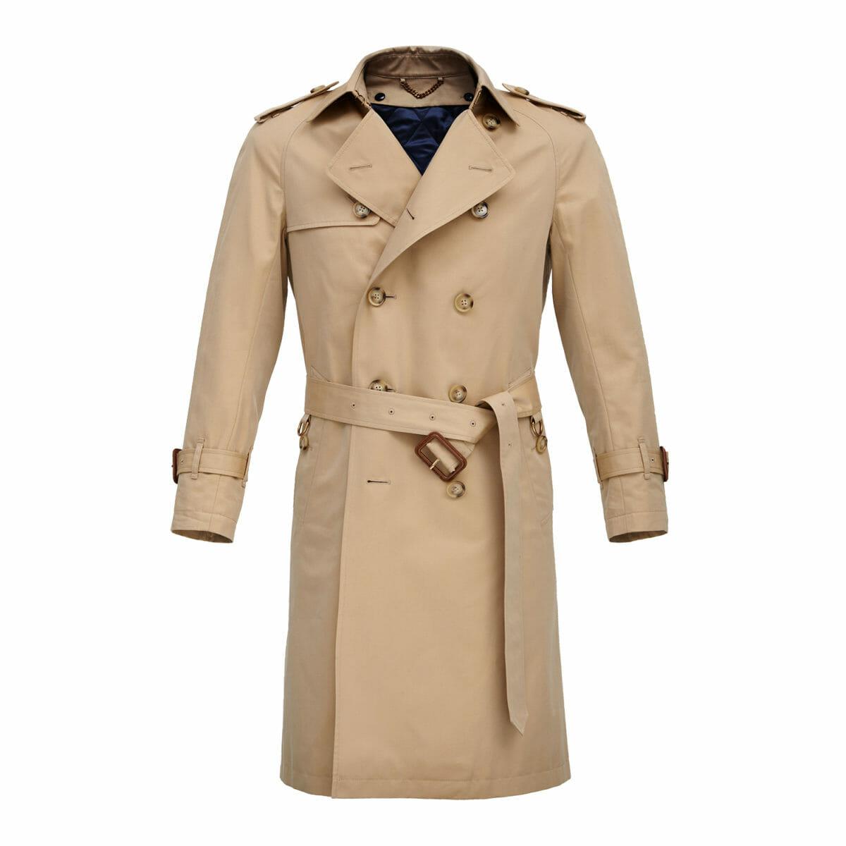 elegancki płaszcz na jesień