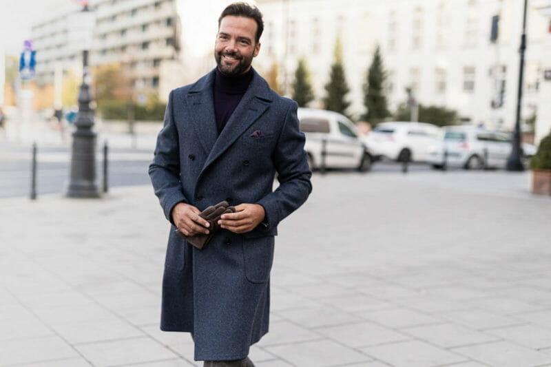 Płaszcz ulster. Na zimę i na jesień