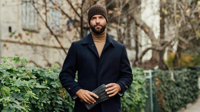 Płaszcz samochodowy. Męski wybór na zimę