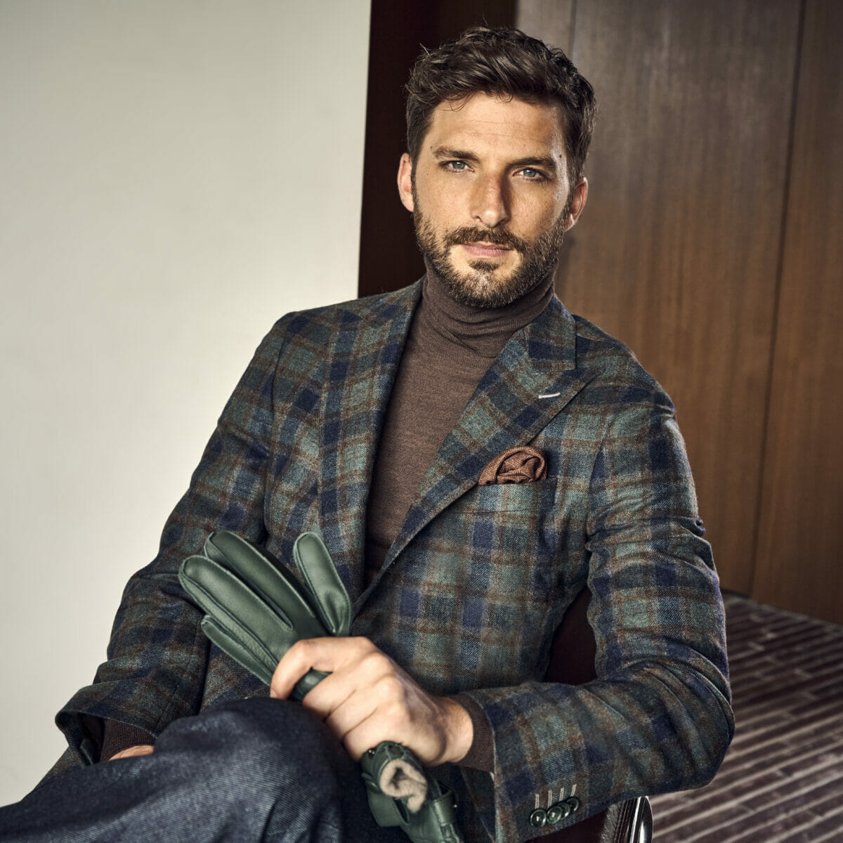 ekskluzywne tkaniny męskie na jesień